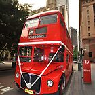 London Bus, Sydney, Australia 2013 by muz2142