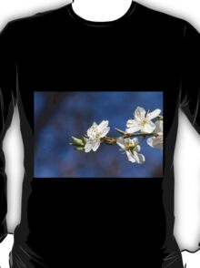 white flowers in spring T-Shirt