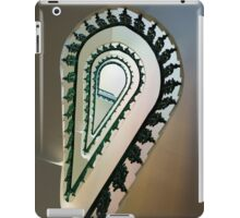 Metal ornamented staircase iPad Case/Skin