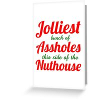 JOLLY Greeting Card