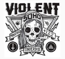 Violent Soho - Blazin Skull T-Shirt