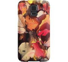 Fall leaves and mist droplets ! Samsung Galaxy Case/Skin