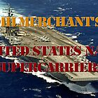 US Navy Supercarriers calendar by Mil Merchant