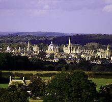 Oxford Dreaming Spires by ppsphotography