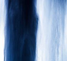 Falling Blue by Silken Photography