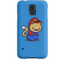It's-a-me! Meow-rio! Samsung Galaxy Case/Skin