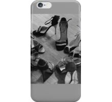 Comme il faut, tango dancing shoes, b & w iPhone Case/Skin