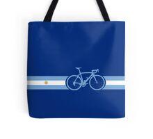 Bike Stripes Argentina Tote Bag