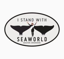 """I Stand With SeaWorld"" Logo by finsandflukes"