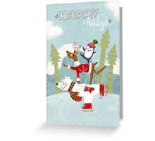 Holiday on Ice Greeting card Greeting Card