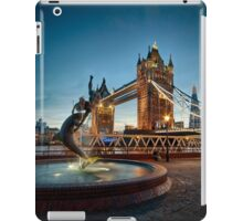 Tower Bridge and The Girl & The Dolphin iPad Case/Skin