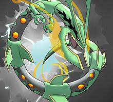 Mega Rayquaza - Stormy BG by Tony-Ficticium