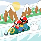 Winter Sports: Bobsleigh by alapapaju