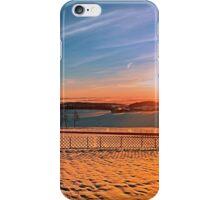 Colorful winter wonderland sundown IV | landscape photography iPhone Case/Skin