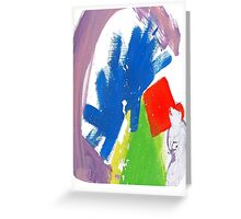 Alt J Themed Design Greeting Card