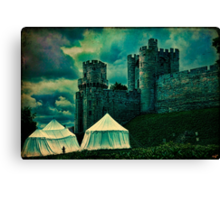 The Gatehouse Tower, Warwick Castle, England Canvas Print