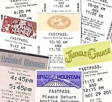 Disney Fastpass iphone case by Denise Swenglish