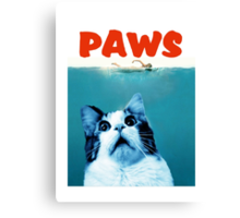 PAWS Canvas Print