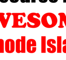 Rhode Island Is Awesome Sticker