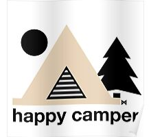 Happy Camper Poster