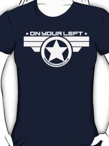 """On Your Left"" Version 03 T-Shirt"
