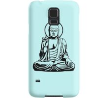 Young Buddha No.1 (black) Samsung Galaxy Case/Skin