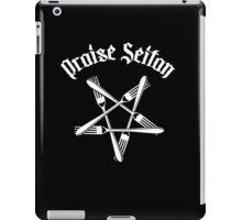 Praise Seitan 1.2 (white) iPad Case/Skin