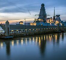 HMS Dragon by Paul Madden