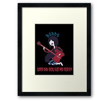 Daddy - Adventure Time Framed Print
