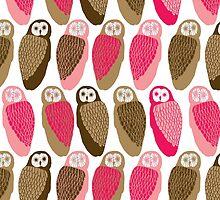 Owls by Lydia Meiying