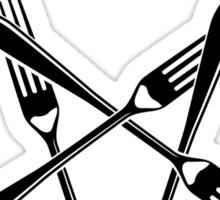 Hail Seitan 1.2 (black) Sticker