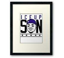 VICTRS - Ice Up Son V2 Framed Print
