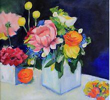 White Vase by clairewhitehead