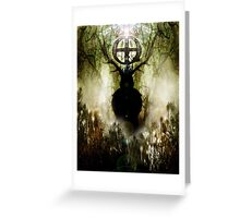 herne the hunter 2014  Greeting Card