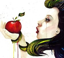 Eve and the Temptation by corsographics