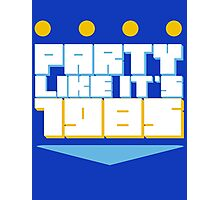 Party Like it's 1985 Crown Photographic Print
