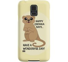 Happy Quokka Samsung Galaxy Case/Skin