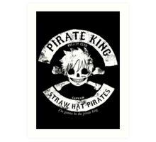 Pirate King Art Print