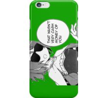 Cash Money iPhone Case/Skin