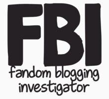 Fandom Blogging Investigator T-Shirt