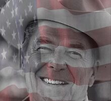 Ronald Reagan by nellie13