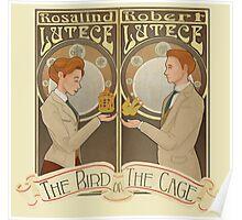 Lutece Twins Nouveau Poster