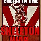 Skeleton War by helenadara