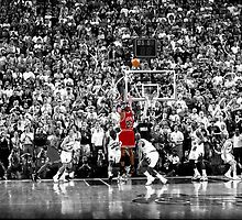 Michael Jordan by alecbeggs