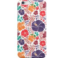 The Flowers Which Scattered iPhone Case/Skin
