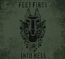 Feet First into Hell - Halo ODST by CanisPicta