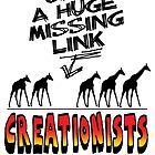 MISSING LINK by atheistcards