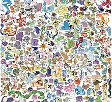 pokemons by Mapivwi