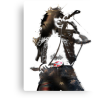 "Ronald Belford ""Bon"" Scott Canvas Print"