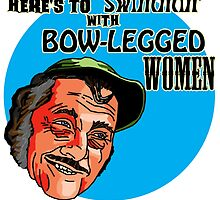 Quint from Jaws - Bow-legged Women by SquareDog